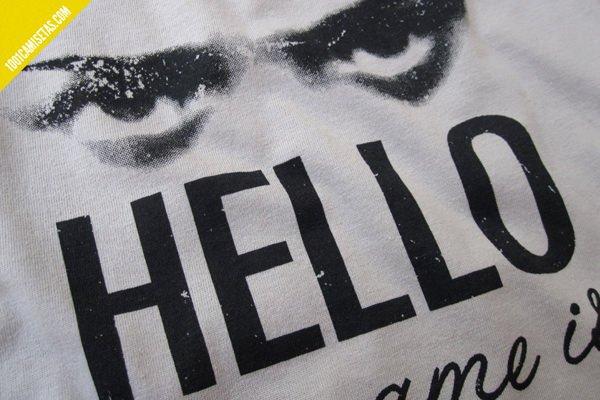Camiseta Arya Stark serigrafiada