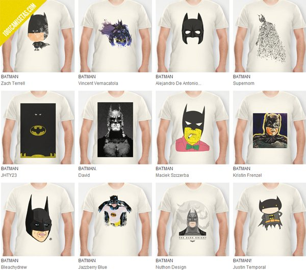 Camiseta Batman Society6