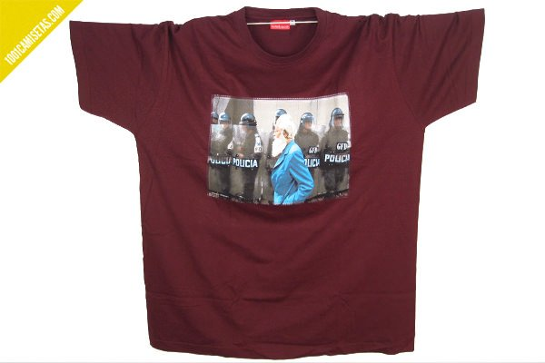 Camiseta ojoloco policia