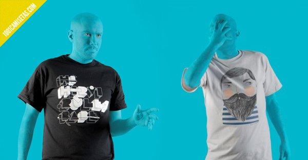 Camisetas hi-hirvi
