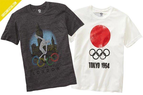Camisetas vintage juegos olimpicos