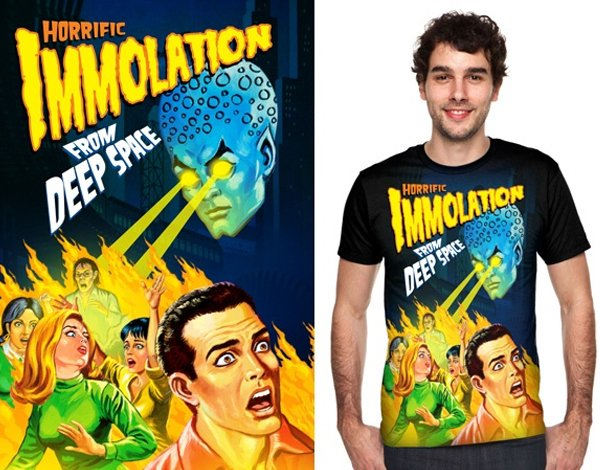 Concurso Threadless pretty ugly immolation
