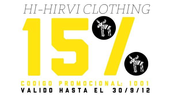 Descuento camisetas Hi-hirvi