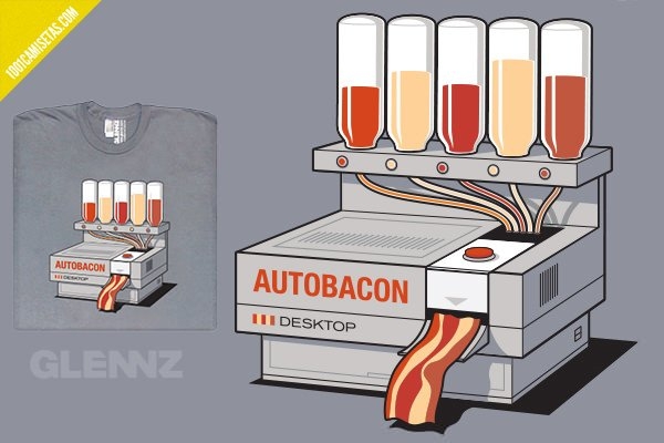Camiseta Glennz tee bacon
