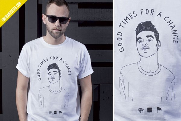 Camiseta Morrissey wemoto