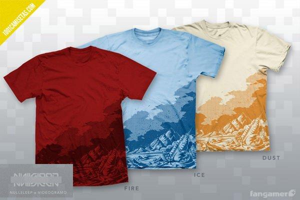 Camisetas Fangamer videojuegos