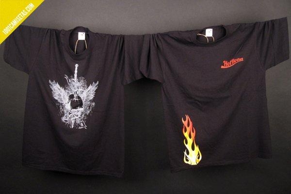 Camisetas moteras Hotroad