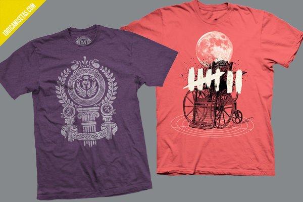 Camisetas serigrafia Fangamer