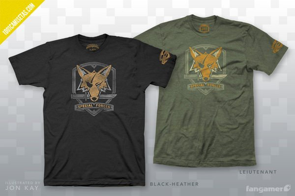 Camisetas serigrafiadas Fangamer