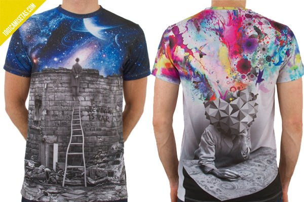 Camisetas sublimacion imaginary