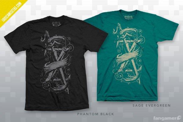 Camisetas videojuegos Fangamer