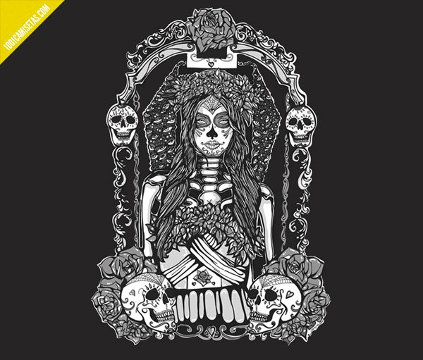 Camiseta Day of the dead girl
