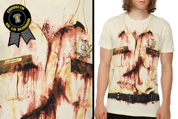 Camiseta de la semana the walking dead