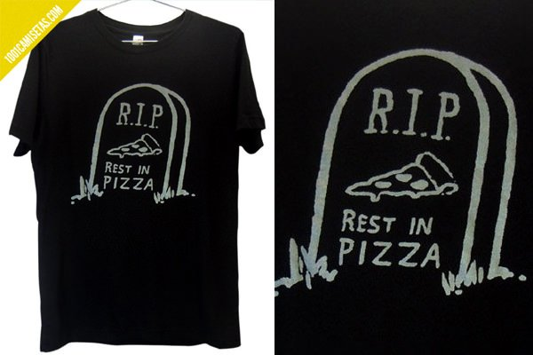 Camiseta rest in pizza Killer condo