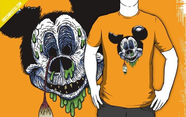 Camiseta zombie Disney