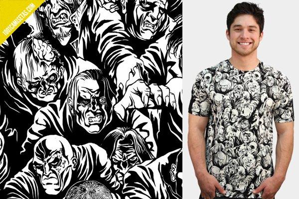 Camiseta zombies full print