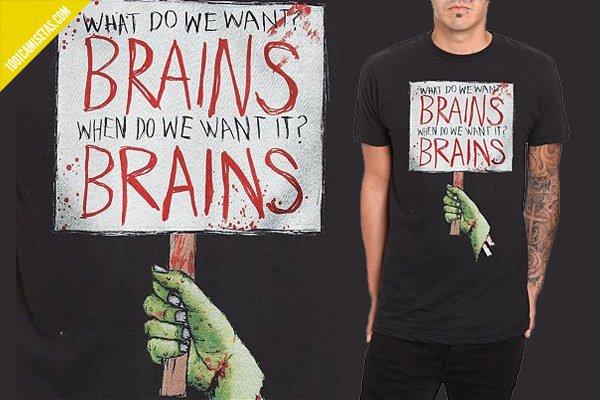 Camiseta zombies Hottopic