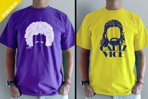 Camisetas el balonazo grandes peinados