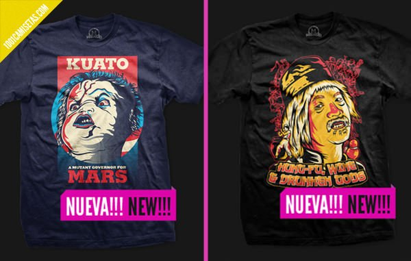 Camisetas nuevas Malgusto