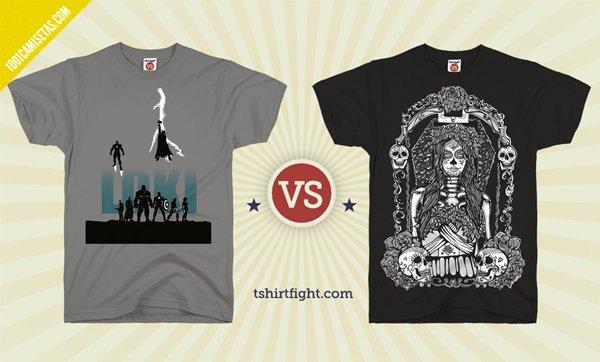 Camisetas tshirt fight