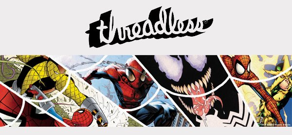 Threadless concurso spider-man