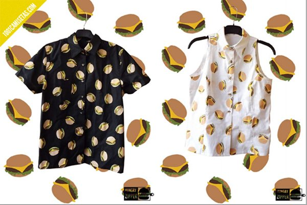 Camisas hamburguesas