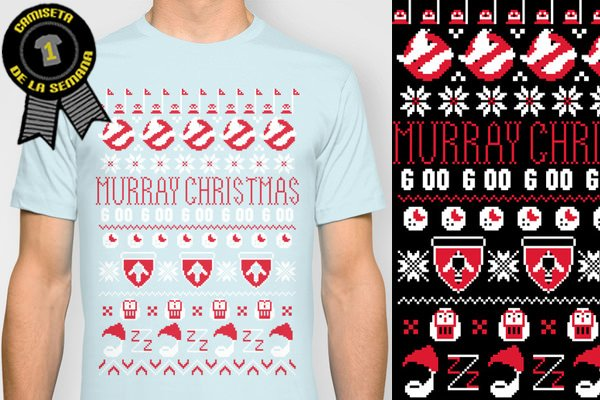 Camiseta de la semana Murray christmas