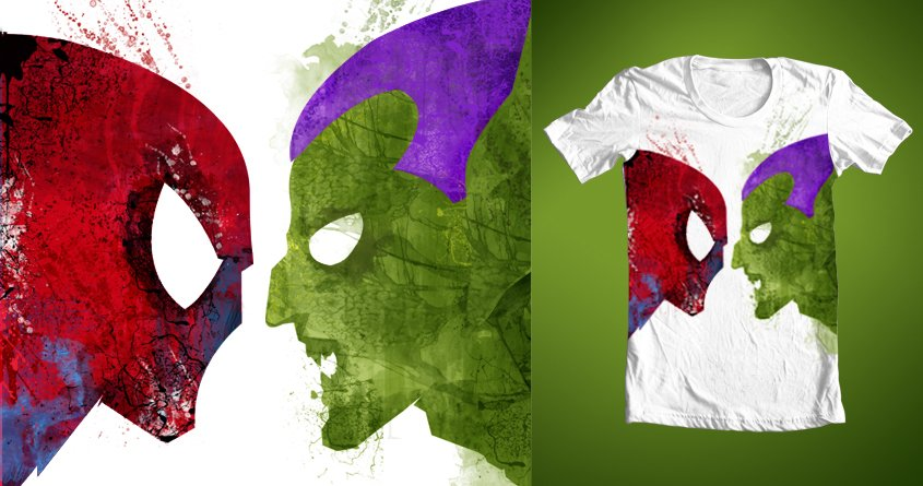 Camiseta spiderman duende verde