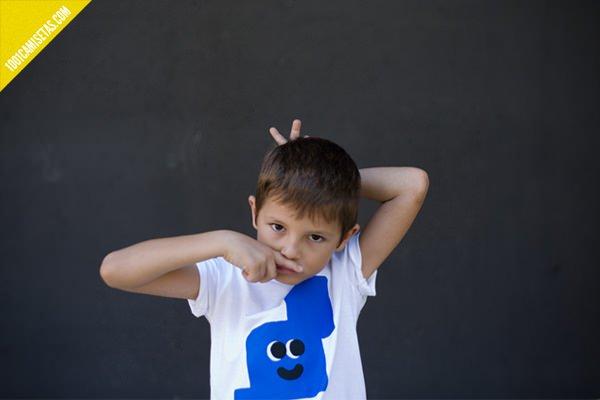Camisetas infantiles Antonio Ladrillo