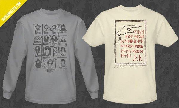 Camisetas el hobbit