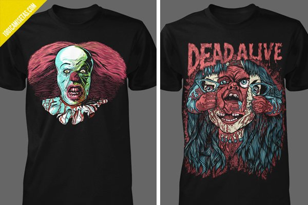 Horror t-shirts it