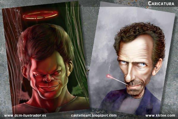 Retrato Dexter House Daniel Castello