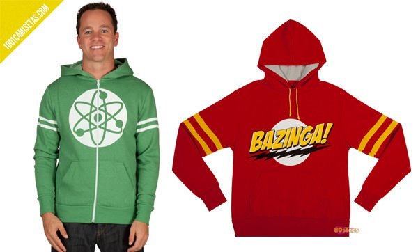 Sudaderas big bang theory