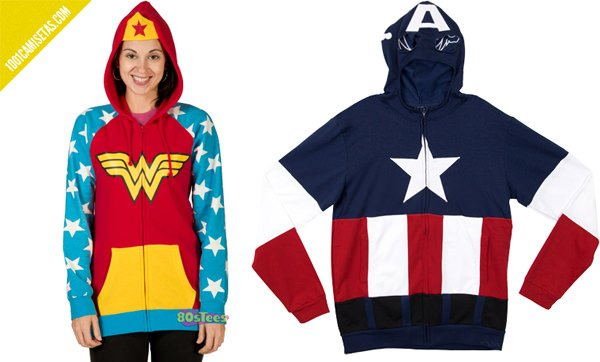 Sweatshirts captain america