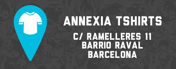 Annexia tshirts Barcelona