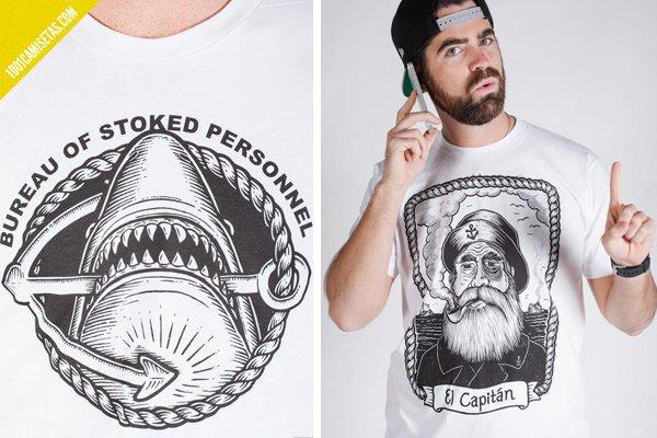 Camisetas estampadas Parafina
