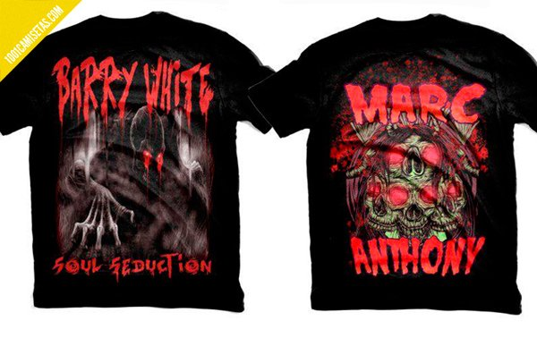 Camisetas metal