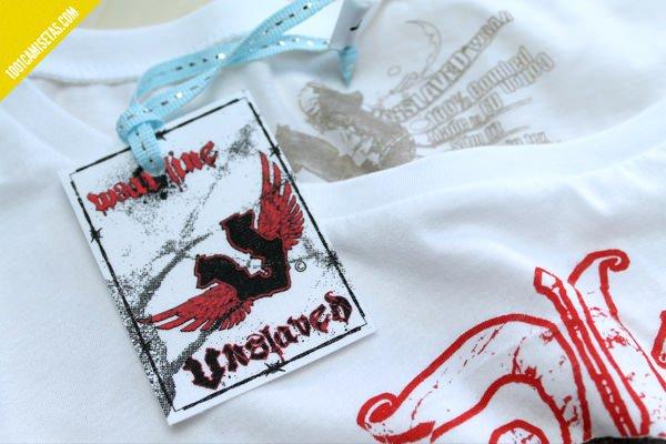 camisetas unslaved