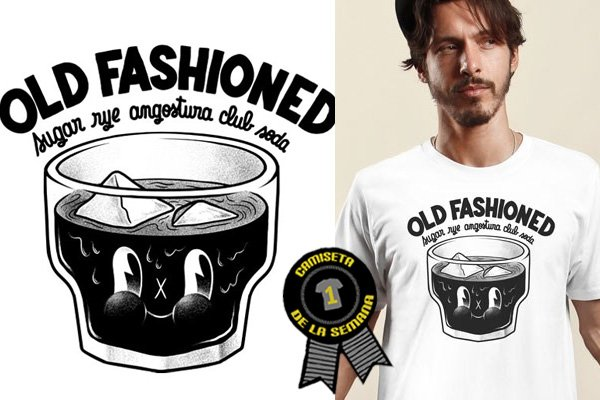 Camiseta de la semana Old fashioned