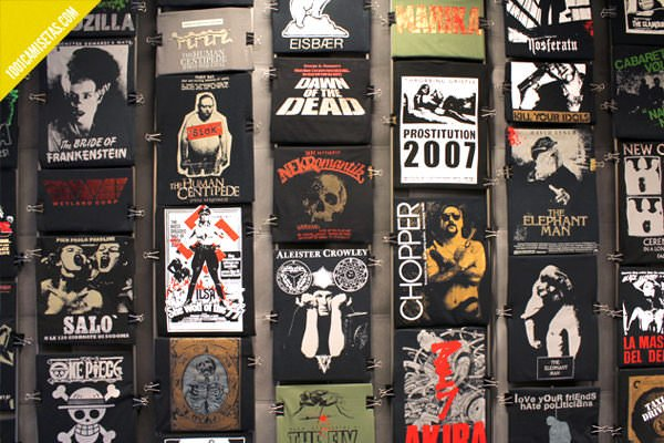 Camisetas de cine
