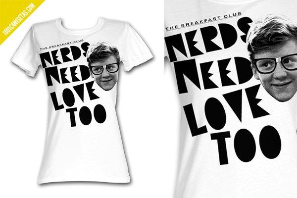 Camisetas nerds love