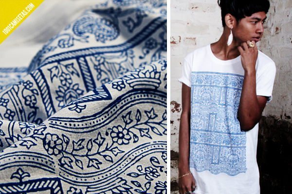 Camisetas estampapdas porcelana