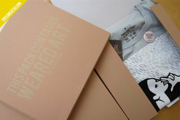 Camisetas Indisorder packaging