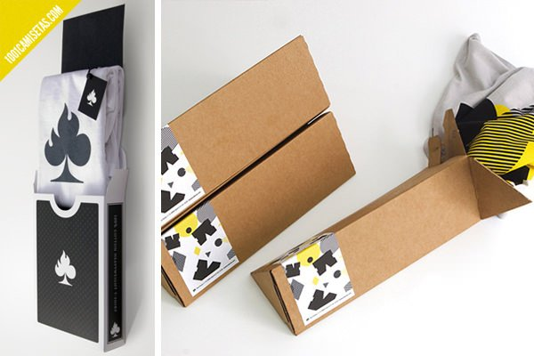 Packaging camisetas carton