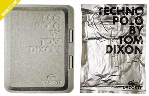 Packaging polos lacoste al vacio