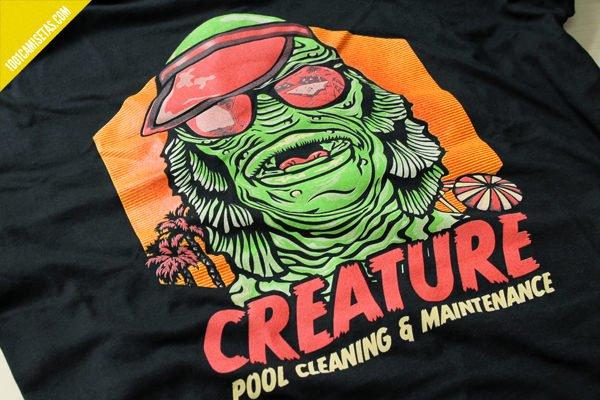 Camiseta creature malgusto