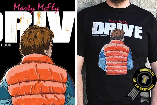 Camiseta de la semana drive-regreso-al-futuro