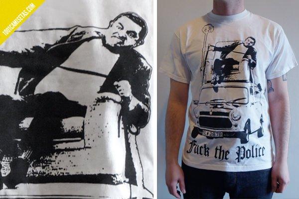 Camiseta police noelia torres
