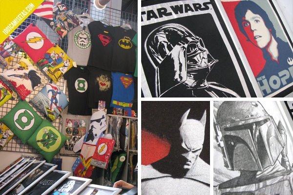 Camisetas comic oficiales