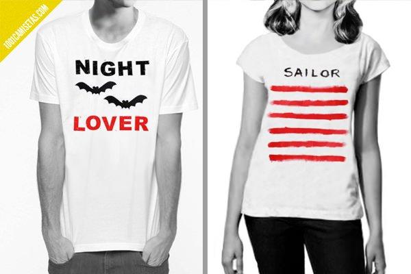 Camisetas estampacion stencils